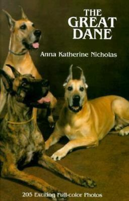 Great Dane Dog Book, The Great Dane  (Brand New)