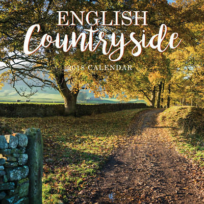 English Countryside 2018 Square Wall Calendar by Paper Pocket Free Postage