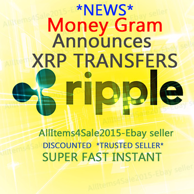 GET 10 XRP RIPPLE COINS - BEST EBAY RATE *Fast Trusted Instant Seller