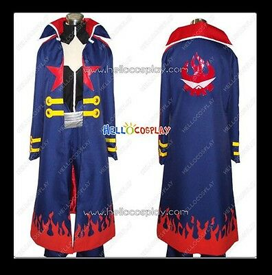 Tengen Toppa Gurren Lagann Simon Long Coat Set Cosplay Costume New H008