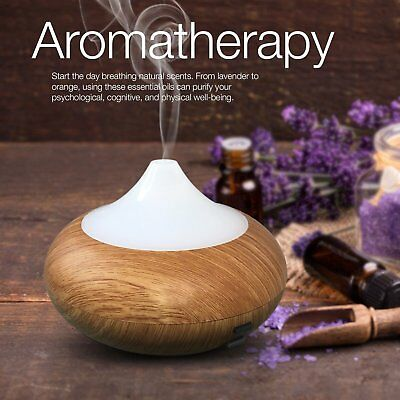 140ML LED Ultrasonic Humidifier Air Diffuser Steam Purifier Mist Vaporiser