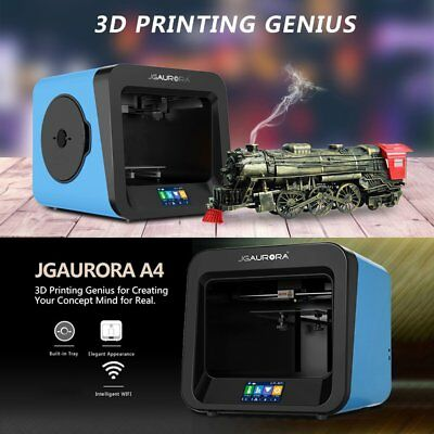 Mini DIY 3D Printer Upgraded Full Quality High Precision 4.3 Inch HD Touch Lot D