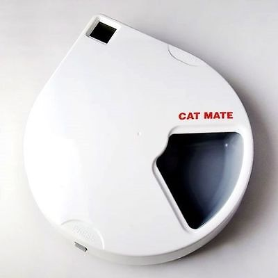 C500 Automatic Wet Dry Food Pet Feeder Ice Packs Dishwasher Proof Dogs Cats