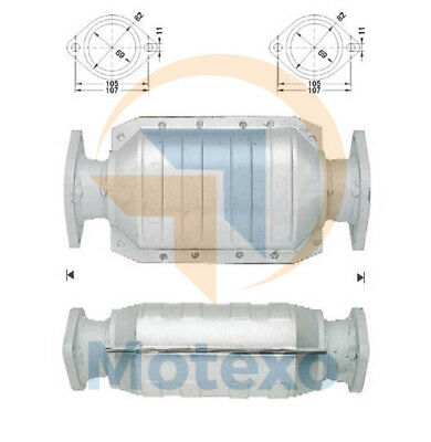 ROVER 214 1.4 Catalytic Converter Fitting Kit 95 to 00 Klarius Quality New