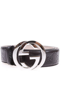 Cintura Gucci Belt % MADE IN ITALY Pelle Uomo Marrone 411924CWC1N-2140 c0a2d8c1eeac