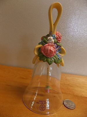 """Avon Lead Crystal1989 Floral Handle Height 5.5"""" Base 2.5"""""""