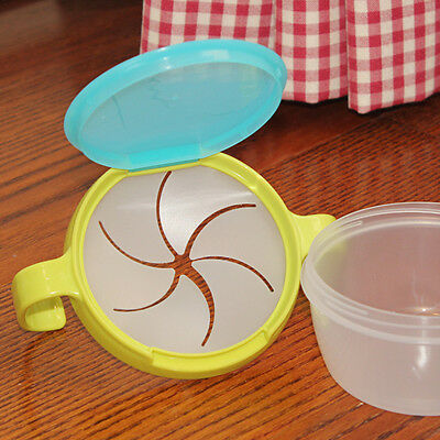 EG_ HK- Baby Kids Non-Toxic Spill-Proof Safety Feeding Eating Snack Food Bowl Ca