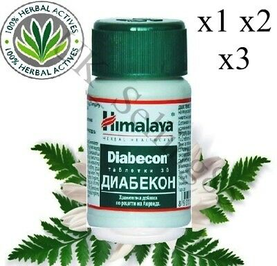 Himalaya Herbals DIABECON 30 Tablets Helps Reduce & Controls Blood Sugar Level