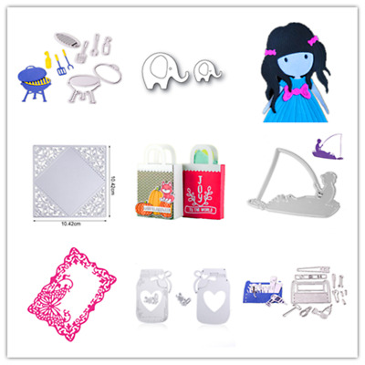 Metal Lovely band aid Cutting die stencil for Scrapbooking and Paper Crafts DIY