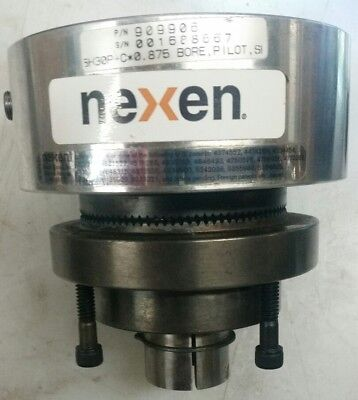 "NEXEN #(909906) Pneumatic Pilot Tooth Clutch 7/8"" Bore 5H30P-C*0.875"