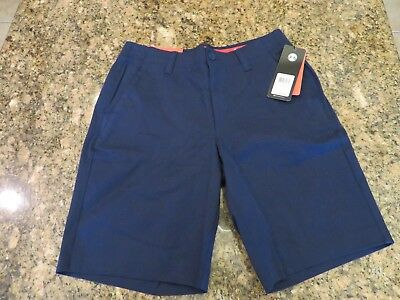 NWT Under Armour Shorts Performance Chino Blue Navy UA Pockets MSRP $69.99 MENS