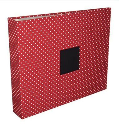 "American Crafts 12"" x 12"" Patterned D-ring Album Scrapbook"