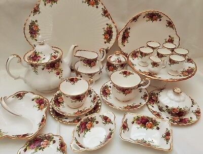 Royal Albert Old Country Roses Tea/Tableware 1962 1st Quality NEW ITEMS ADDED