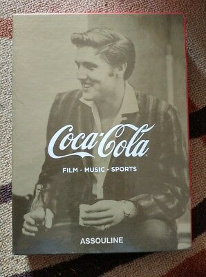 Coca Cola Slipcase Set books of 3 Film Music Sports by Scott Ridley assouline