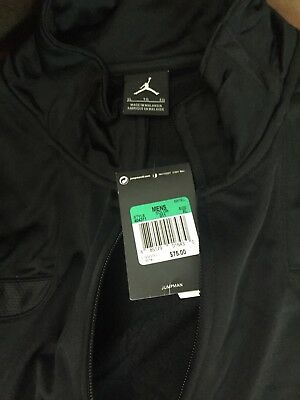 80fd2eb66cc Men's Nike Air Jordan Jumpman Flight Full Zip Track Polyester Jacket Size  XL Bra