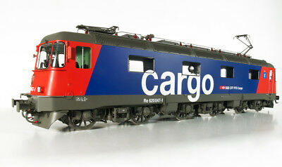 Kiss 1 Gauge Electric Locomotive Re 6/6 Cargo FS DIGITAL ESU Sound 4.0 for