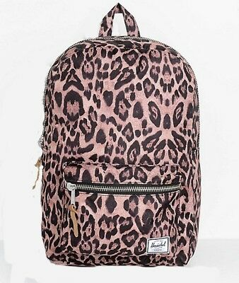HERSCHEL SUPPLY CO SETTLEMENT MID BACKPACK (LEOPARD) MSRP  60- NEW w TAG 2d3290ad6da14