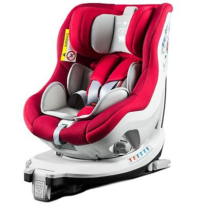 Cozy N Safe Merlin Baby Kids Child Group 0+/1 Car Seat - Red