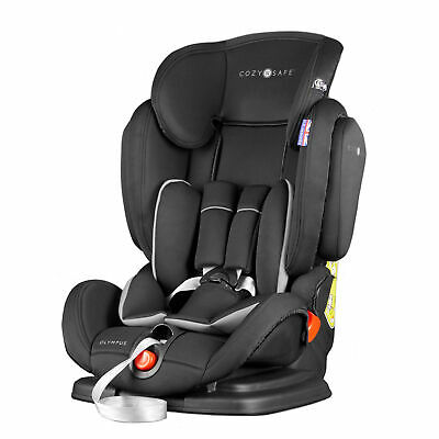 Cozy N Safe Olympus Group 1/2/3 Child Baby / Car Seat - Black/Grey