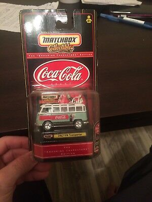 Matchbox Collectibles Coca Cola 1967 VW Transporter The Enduring Characters Bus