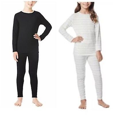 32 Degrees Heat Retention Kids Base Layer 2PC Set Legging Long Sleeve Winter