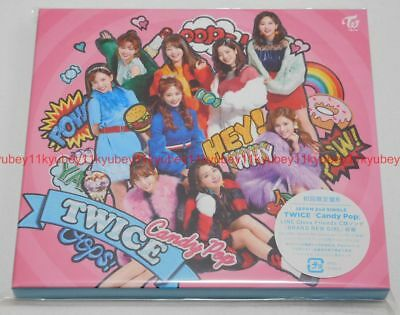 New TWICE Candy Pop First Limited Edition Type B CD DVD Card Japan WPZL-31405