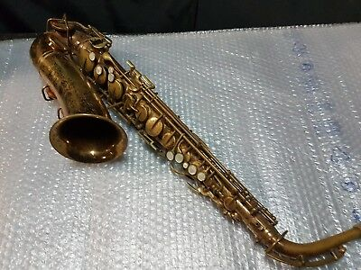 60's THE ELKHART by BUESCHER ALTO SAX / SAXOPHONE - made in USA