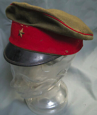Vintage WWII Japanese Military Army cap hat M1119