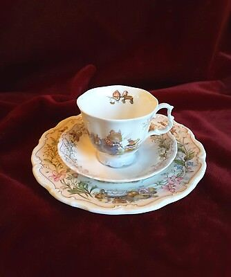 "Brambly Hedge Royal Doulton, ""The Birthday"" , 3-teilig, TOP Zustand !"