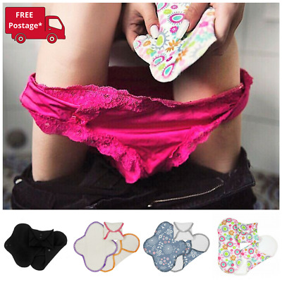 3 Pack of Organic Cotton Panty Liners