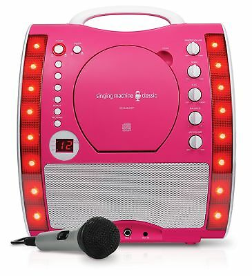 Singing Machine SML343PK Karaoke Machine - Pink