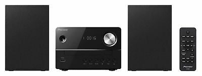 Pioneer X-EM16-B Micro System with CD USB and FM Tuner - Black