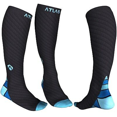 Compression Socks for Men & Women - Atlas Support Sock - Ideal for Running Cy...