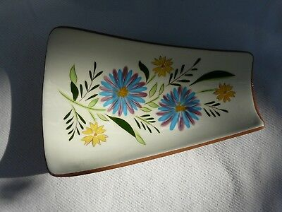 Vintage Stangl Country Garden large serving dish Hand Painted Made in USA
