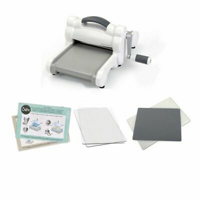 Sizzix Big Shot Only White and Grey Stanzmaschine zzgl. Prägeausstattung