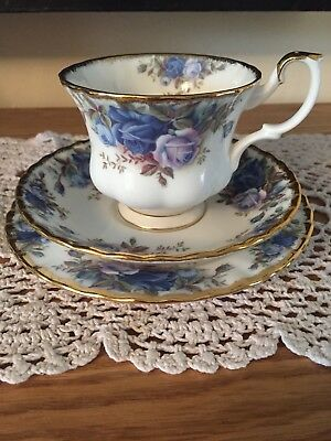 Royal Albert Moonlight Rose Trio