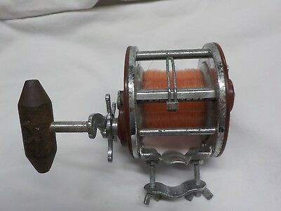 Vintage Penn Peer No. 309 Level Wind Fishing Reel Works Perfect