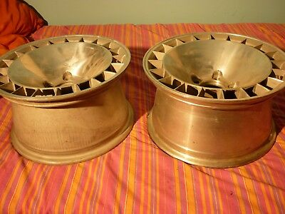"4 GM ALUFELGEN 8""x15"" PONTIAC T/A TURBO WHEELS"