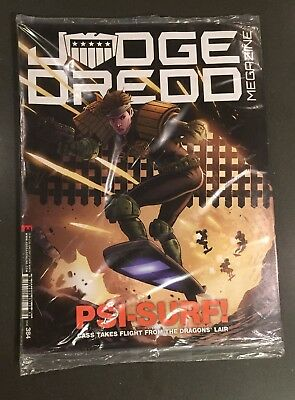 Judge Dredd Megazine #384 New unread sealed + extra bonus 2000AD comic Magazine
