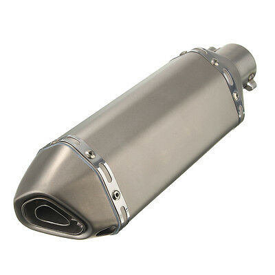 SCARICO TERMINALE CAFE RACER Exhaust Muffler Pipe street 38 51 MM