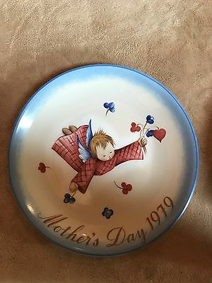 Vintage~Mother's Day Plate~Cherub's~Gift~Hummel~1979~Ltd~W German~Decor~Rare~EUC