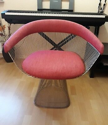 Warren Platner Lounge Arm Chair Original Knoll Sessel