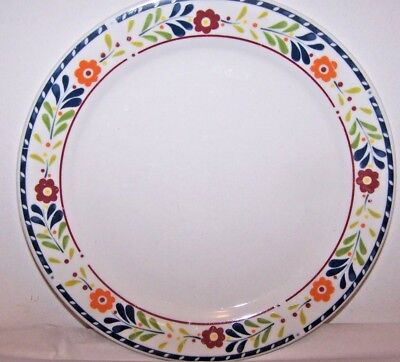 Lot 4 Gibson Dinner plates Everyday Dine Floral Design China Dishes Dinnerware