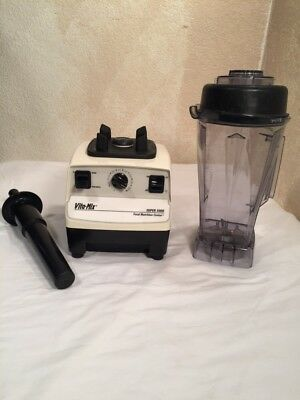VitaMix Super 5000 Total Nutrition Center Blender Mixer VM0103 Dry Container