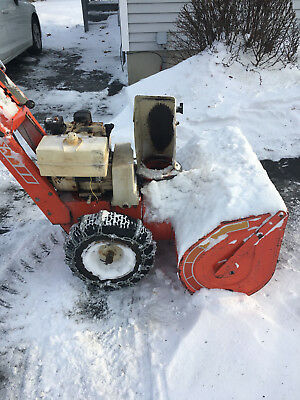 simplicity 1080 snowblower  local pic up only