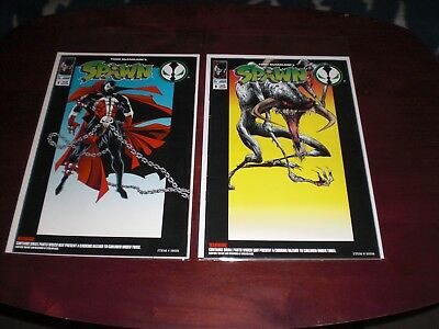 Spawn  1994  Lot Of 2  No.1  Spawn Figure & Violator Figure Fn   Image Comics