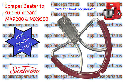 Sunbeam Mixmaster Scraper Beater MX7900 MX9200 MX9500 Part MX92004 NEW GENUINE