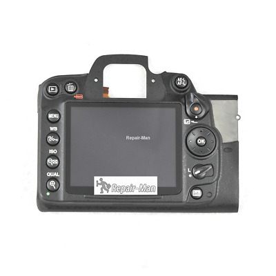 AU D7000 Rear Cover With LCD And Key Button Camera Repair Parts For Nikon