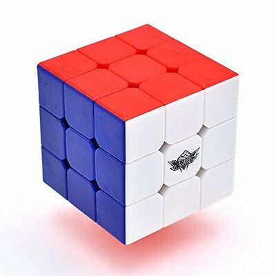 3x3x3 Cyclone Boys Magic Speed Cube Original Ultra-smooth Stickerless Puzzle