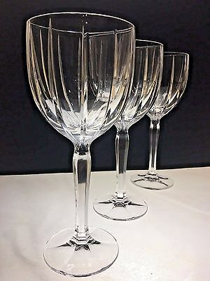 Marquis by Waterford Crystal Water Goblets 'Omega' Set of 3